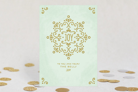 Snow Fancy Holiday Cards