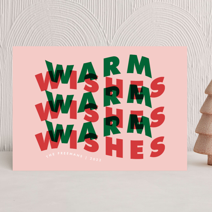 """""""Warm Wave"""" - Holiday Cards in Gumdrop by Catherine Culvenor."""