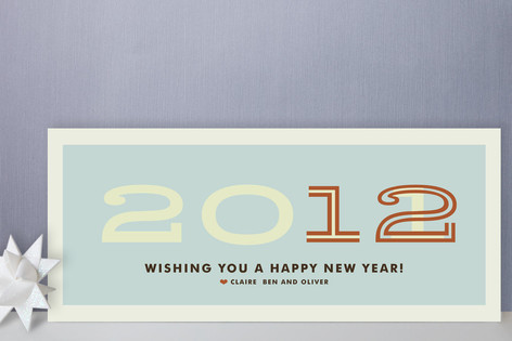 Hip New Year Holiday Cards