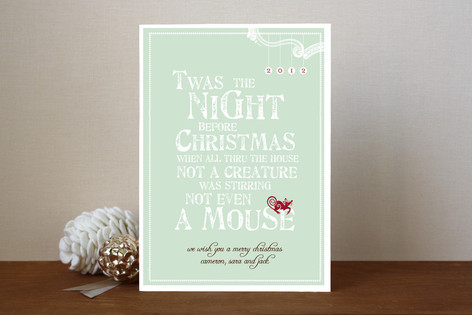 Mouse Holiday Cards