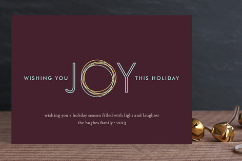 Holiday Joy Holiday Cards