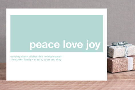 Modern Joy Holiday Cards