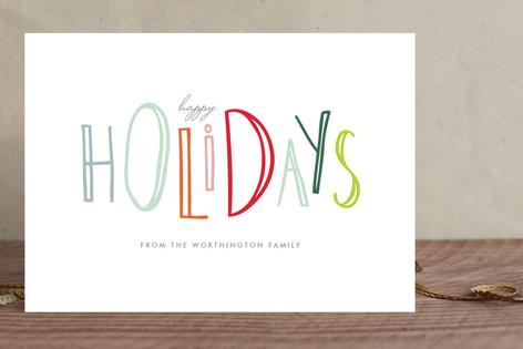 Happy-Go-Lucky Holidays Holiday Cards