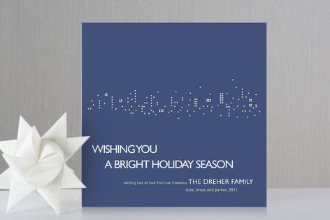 Night Lights Holiday Cards