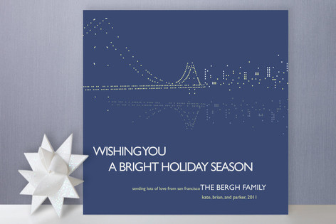 Night Lights SF Holiday Cards
