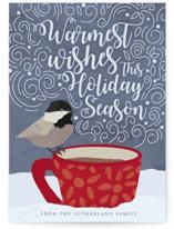 Holiday Bird Wishes by Nella Designs
