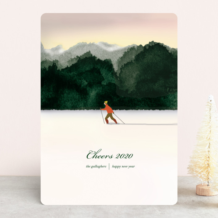 """Season's Best"" - Holiday Cards in Emerald by Shannon."