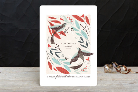 Winter Birds Holiday Cards