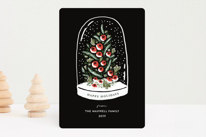 """Winter's Greeting"" - Holiday Cards in Ink by iamtanya."