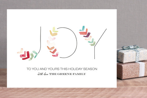 Colors of Joy Holiday Cards