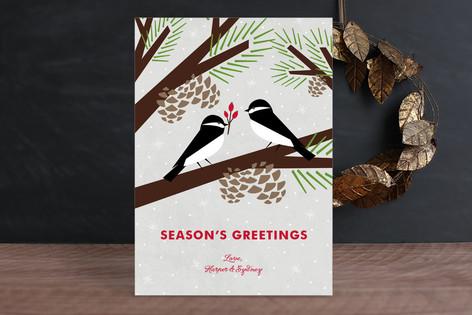 Chickadee Gift Holiday Cards