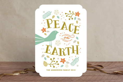 Tranquil Peace Holiday Cards