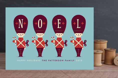 Toy Soldiers Holiday Cards