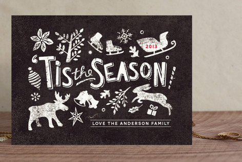 Snow Charm Holiday Cards