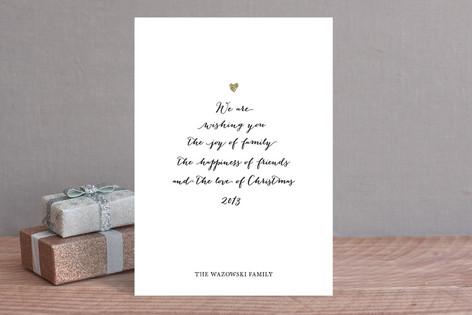 Joy of Family Holiday Cards