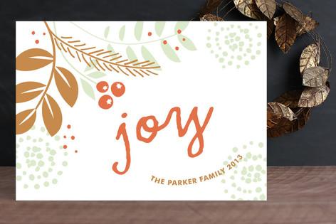 Fresh Foliage Holiday Cards