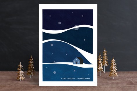 Wavy Wonderland Holiday Cards