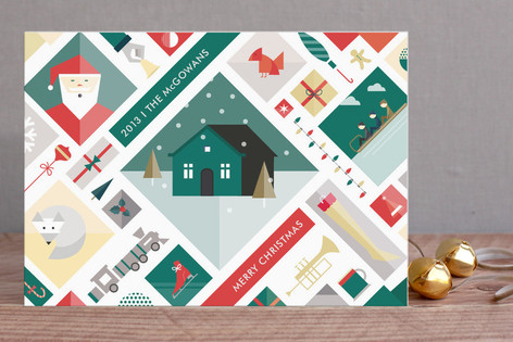 Winter Icons Holiday Cards