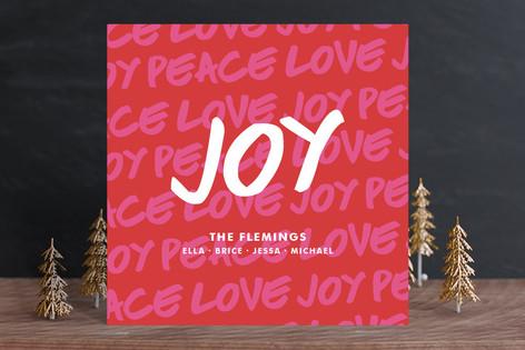 Holiday Graffiti Holiday Cards