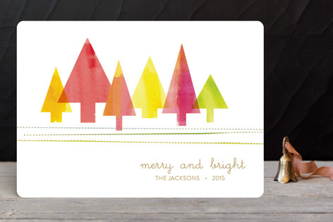 Painted Pines Holiday Cards