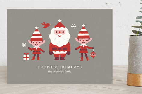 Christmas Friends Holiday Cards