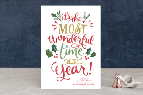 Most Wonderful Everything Holiday Cards