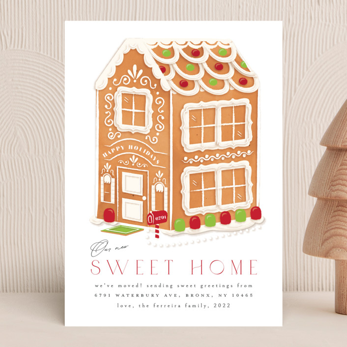 """""""sweet home"""" - Holiday Cards in Evergreen by Ana de Sousa."""