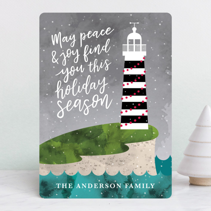 """Find You"" - Holiday Cards in Stormy Eve by Chelsey Adams."