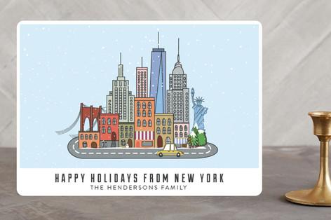 I love New York Holiday Cards
