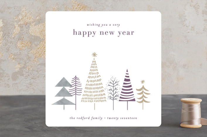 """""""little forrest"""" - Holiday Cards in Heather by Bethan."""