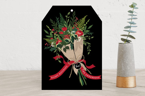 Holiday Bouquet Holiday Cards