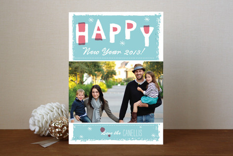 New Year Love New Year Photo Cards