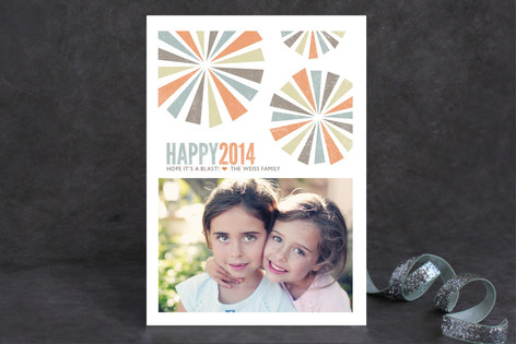 Have a Blast New Year Photo Cards