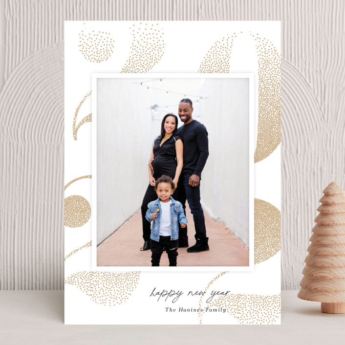 """""""Bubbled Up"""" - New Year Photo Cards in Pinecone by Kaydi Bishop."""