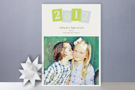 Year New Year Photo Cards