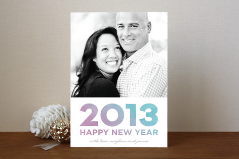 New Year Wash New Year Photo Cards
