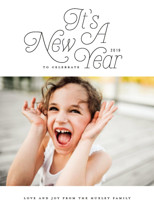Groovy Year New Year's Photo Cards By Simona Camp