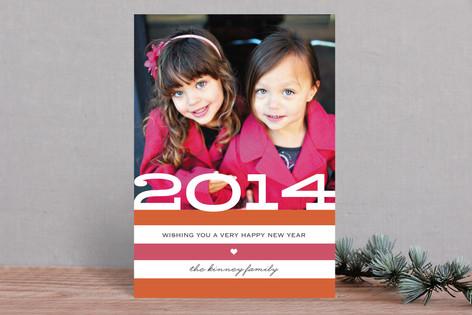 Heartfelt New Year Photo Cards