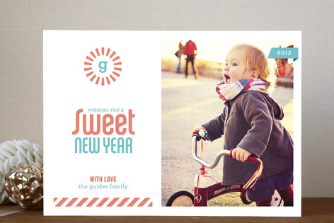 Sweet New Year Photo Cards