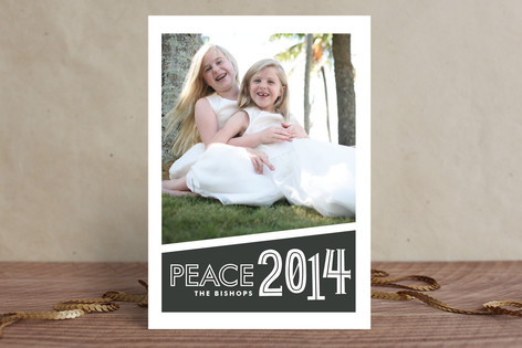 Vernacular New Year Photo Cards