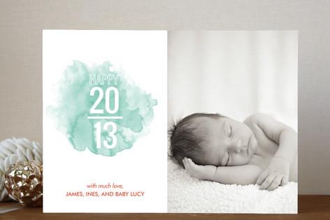 Splash New Year Photo Cards