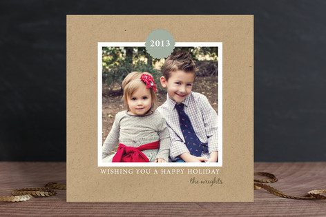 Vintage New Year Photo Cards