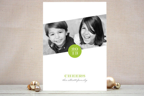 Simply Put New Year Photo Cards