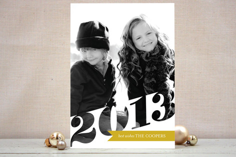 Big 2013 New Year Photo Cards