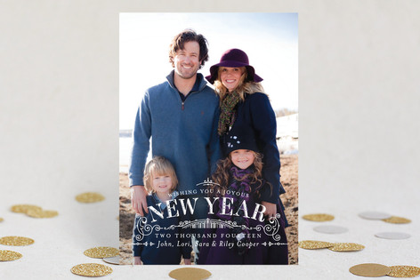 Joyous Year New Year Photo Cards
