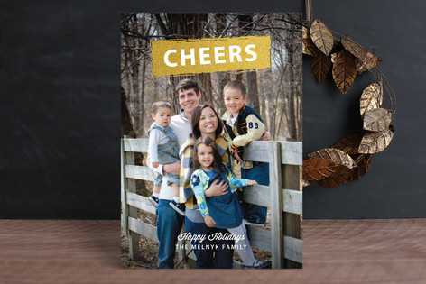 Glitz New Year Photo Cards