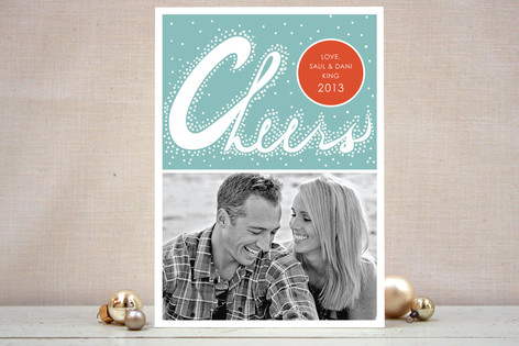 Bubbly Cheers New Year Photo Cards