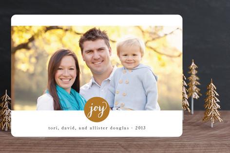 Simply Joy New Year Photo Cards