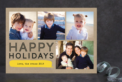 Bubble Talk New Year Photo Cards