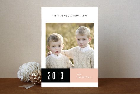 Yearly Band New Year Photo Cards